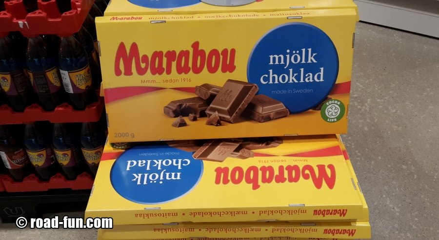 Marabou Vollmilch - 2000g Tafel