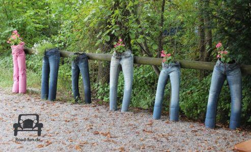 Ausrede 119 - Die Hose stand im Garten rum
