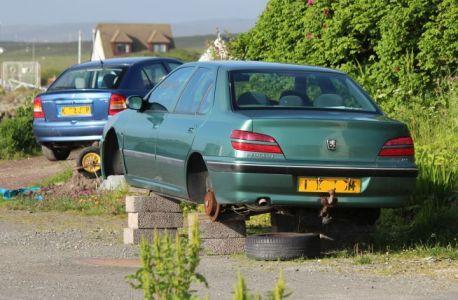 Ausrede 133- Reifen geklaut :-(((