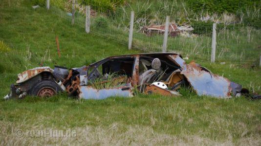 Ausrede 142 - Auto ist im Moor versunken