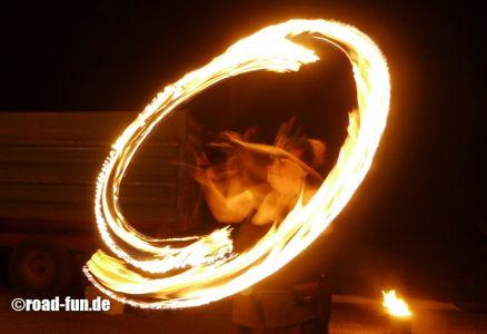Feuershow Vor Der Haustuer #05