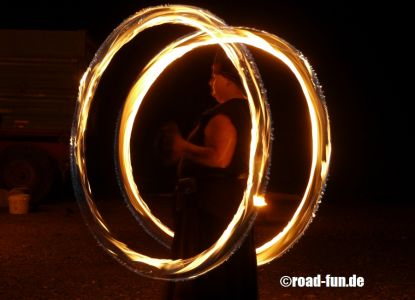 Feuershow Vor Der Haustuer #13
