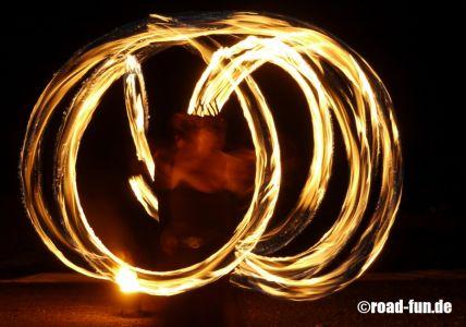 Feuershow Vor Der Haustuer #15