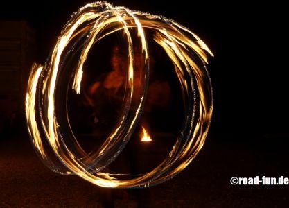 Feuershow Vor Der Haustuer #17