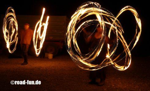 Feuershow Vor Der Haustuer #18
