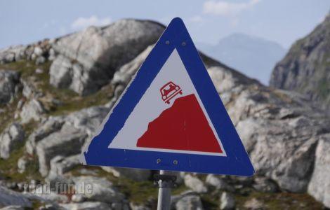 Gefahrenschild Norwegen - Statkraft (1)