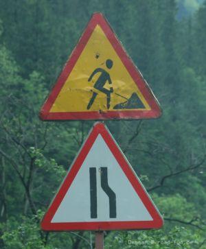 Gefahrenschild Ukraine - Baustelle (4)