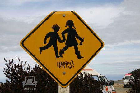 Gefahrenschild Neuseeland - Kinder