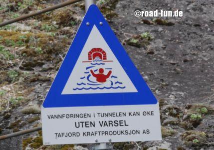 Gefahrenschilder Norwegen - Statkraft (3)