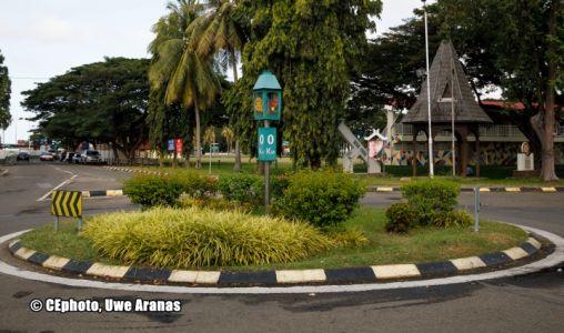 Kreisverkehr In Malaysia