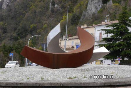 Kreisverkehr In San Marino
