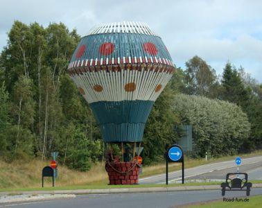 Kreisverkehr In Schweden