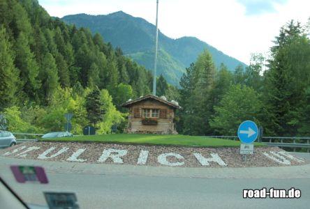 Kreisverkehr In Südtirol