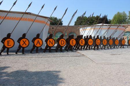 Lokschuppenausstellung 2013 - Alexander der Grosse