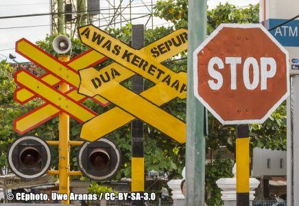 Stoppschild Indonesien