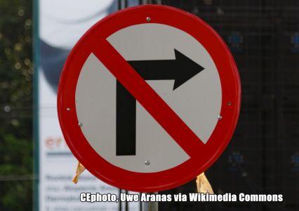 Verbotsschild Indonesien