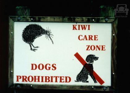 Verbotsschild In Neuseeland (2)