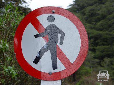 Verbotsschild In Neuseeland (8)