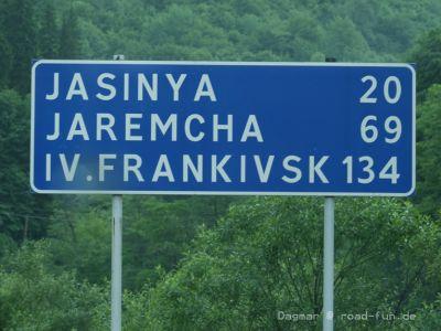 Wegschild Ukraine (2)